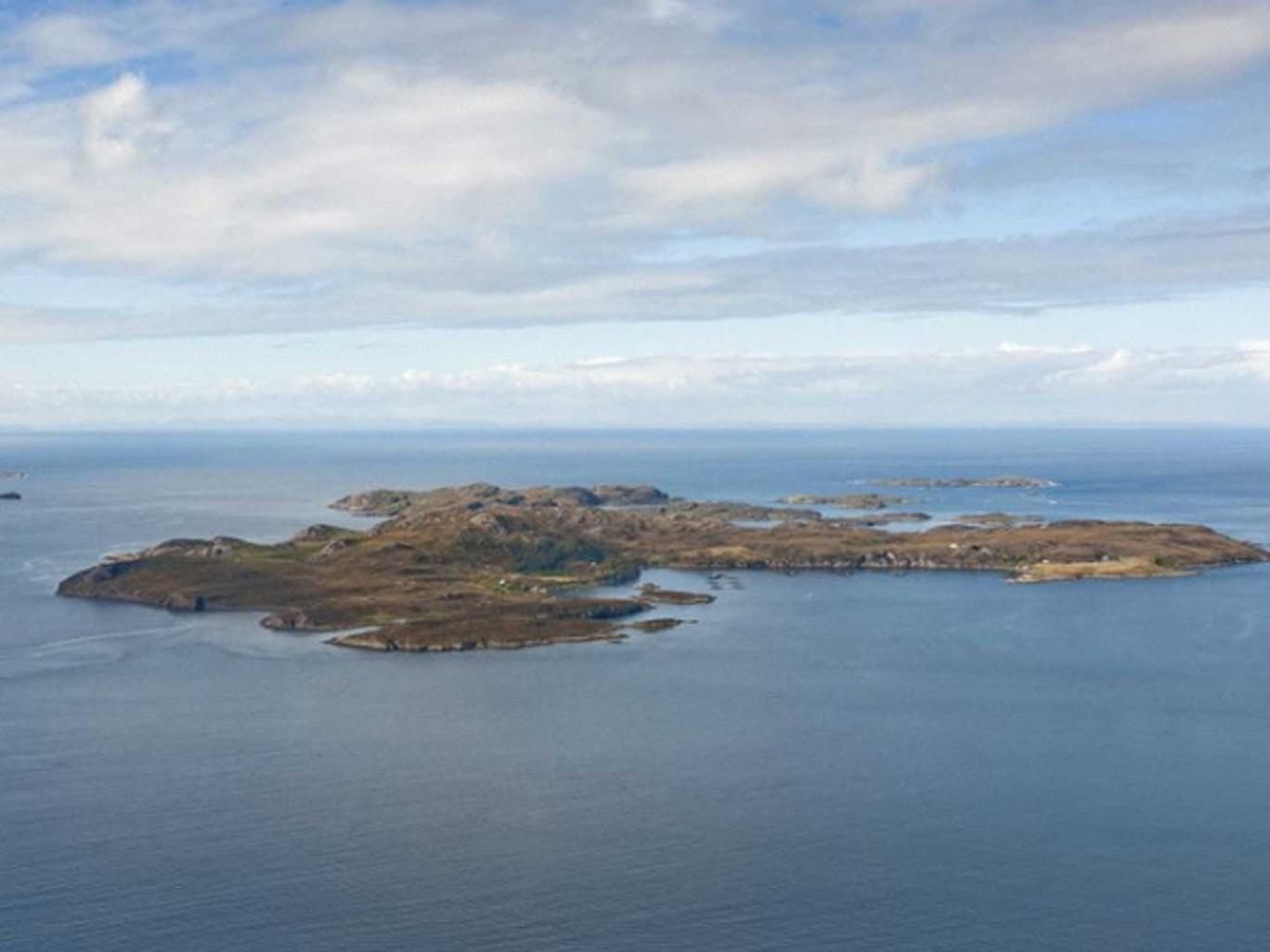 The Isle Of Tanera Mor, Achiltibuie, Ullapool, Ross-Shire in the Inner Hebrides